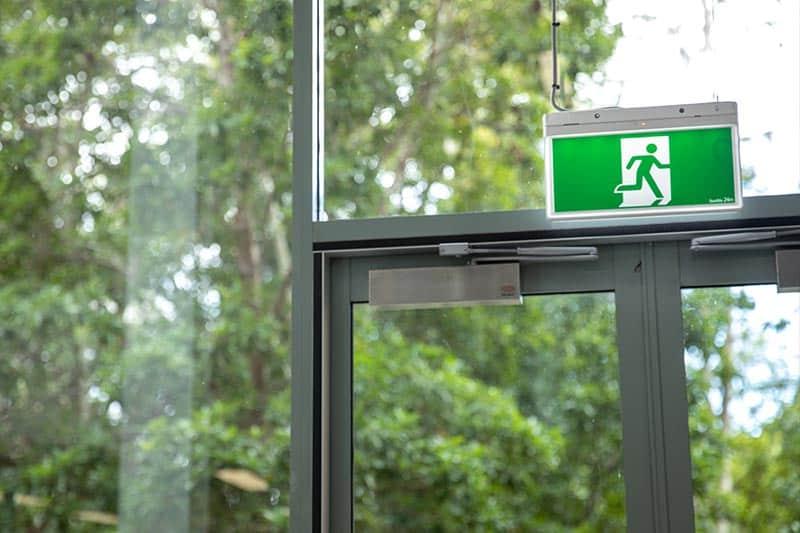 CFSP Emergency Exit Sign