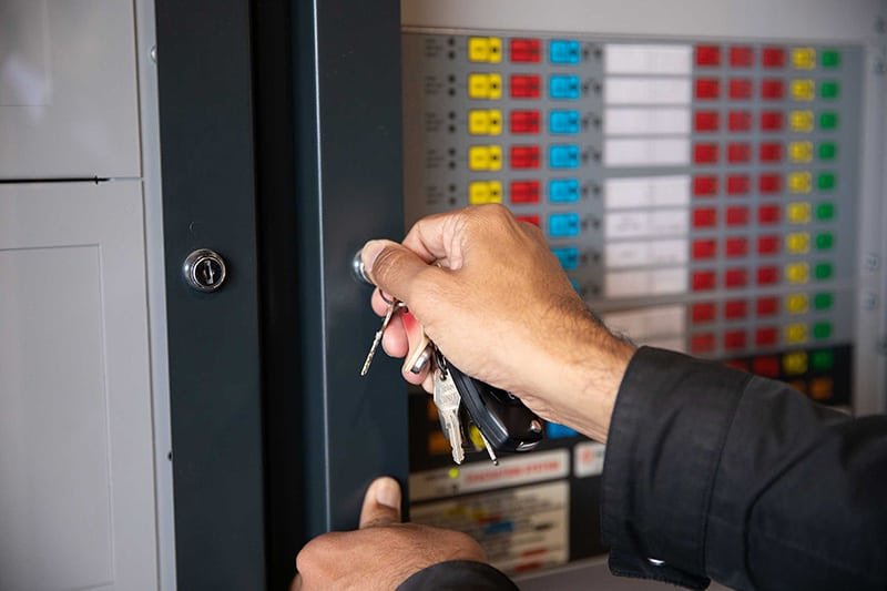 Fire Indicator Panel Inspection Key CFSP